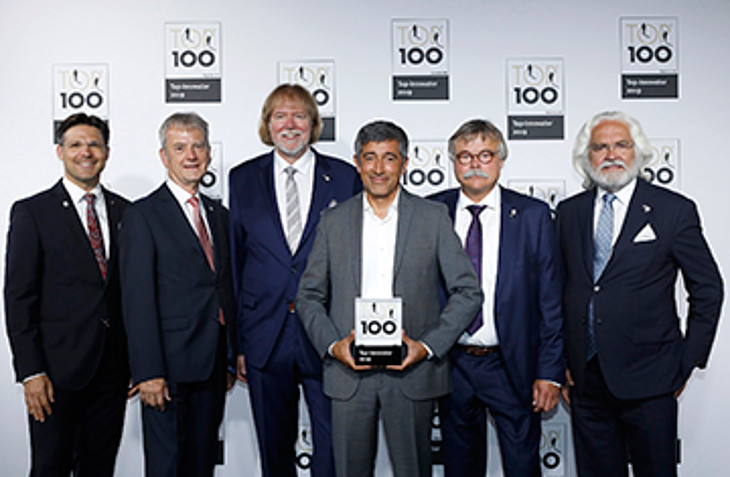 TOP100 ::  Prize-awarded innovation performance