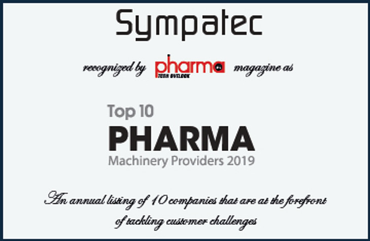 TOP10 Pharma Machinery Providers 2019