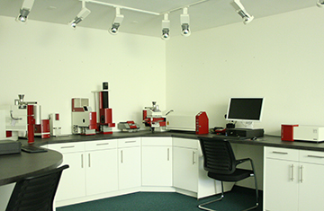Sympatec sales office for Switzerland in Basel